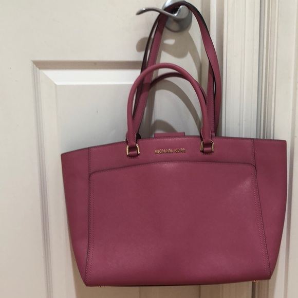 NWOT Michael Kors Emmy Large Double Handle Tote